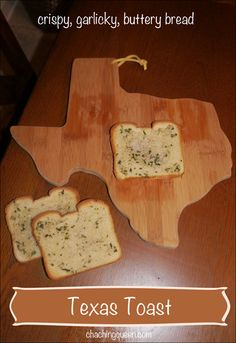 Texas Toast by Native-Texan Buttery Garlicky Savory