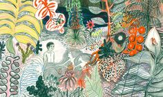 LU cie & co: Kitty Crowther raconte le peintre Jan Toorop Illustrators, Illustrations And Posters, Figure Painting, Illustration, Kitty Crowther, Artist, Painting, Graphic Novel, Jungle Illustration