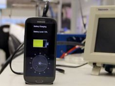 Une batterie pour recharger le mobile en 30 secondes