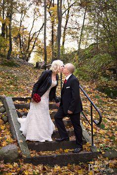 Piece of Wedding Cake: Jacket bride, autumn wedding, fall wedding, wedding in Finand