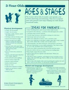 3-Year-Olds -- Ages and Stages - Thumbnail