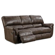 Simmons Bucaneer Cocoa Reclining Console Loveseat At Lots Home Swag Pinterest Love Seat Sofa And Recliner