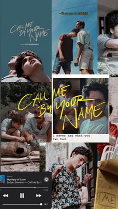 This is a cmbyn wallpaper I made 🥺🥰 Gay Aesthetic, Aesthetic Movies, Aesthetic Collage, Aesthetic Pictures, Your Name Wallpaper, Cute Wallpaper Backgrounds, Cute Wallpapers, Your Name Quotes, Parejas Goals Tumblr