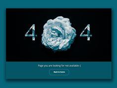 404 Page by Muhamad Reza Adityawarman