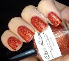 Elixir Lacquers: Red Nose