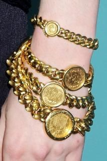 Wouls love a coin from Cuba made just like this it would be so special. NOTE  We all had to have one of those bracelets even though we lived in the U.S.
