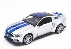 Maisto 1:24ニードフォースピード2014フォードマスタングダイキャストモデルカーのおもちゃ新しいボックス内送料無料