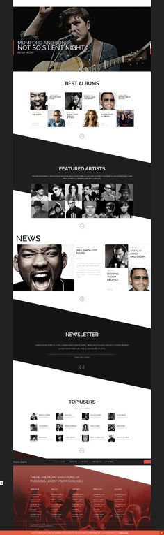 MUSIK is a Stylish, Responsive and Professionally Designed WordPress ...