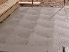 Brushed Concrete Surface