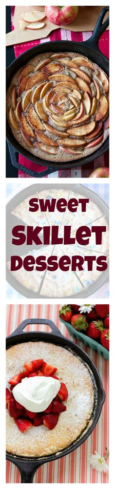 If you don't already bake with your skillet, you're definitely going to want to start after seeing these recipes for delicious cookies and decadent desserts.