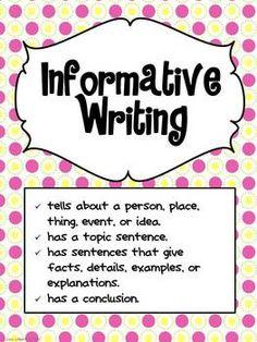 expository essay checklist