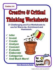 fun critical thinking exercises