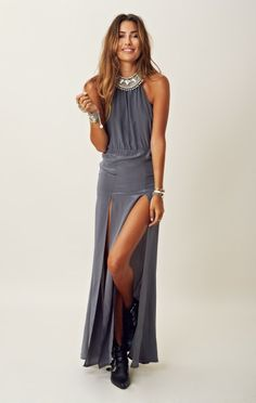 Stone Cold Fox Onyx Gown