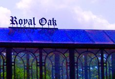 The Royal Oak train station.  Will be heading to Chicago from here in a few weeks!