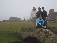 Frank Harber at St. Andrews Golf Club