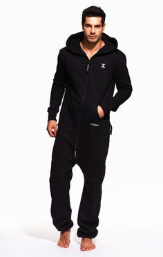 The OnePiece Original Adult Onesie in Black with Black Zip is designed with super soft luxury cotton and is designed for both men and women. Our unisex adult jumpsuits are perfect for those lazy chill out days or for stepping out in. The OnePiece Onesie really is the ultimate in chill out wear, style and quality. 100% Cotton - Soft Lightweight fabric in 250gsm quality. 80% Cotton, 20% Polyester - Fleece lined soft fabric inside - 350gsm quality.The Original OnePiece® jumpsuit is made from…