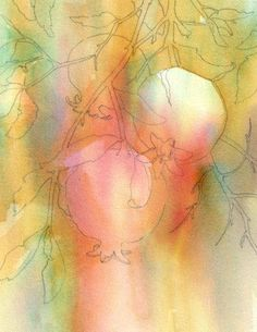 Brenda Swenson: Negative Painting with Watercolor - explanation