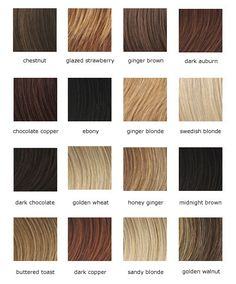 Information about different shades of strawberry blonde hair color at dfemale.com, beauty and styles blog for women.