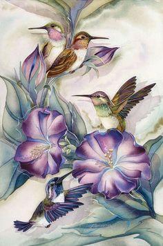 Fan Art of Humming Bird Portrait for fans of Hummingbirds. humming bird portrait