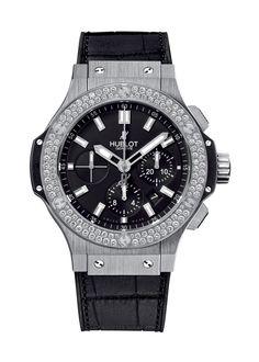 Big Bang Steel Diamonds 44mm Chronograph watch from Hublot