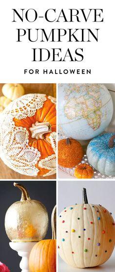 No Carve Pumpkin Ideas To Step Up Your