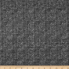 Ramtex Berlin Heathered Upholstery Zinc from @fabricdotcom  Refresh and modernize any home decor with this heavyweight upholstery fabric. This fabric has a poly backing and is a perfect weight for accent pillows, upholstering furniture, headboards, poufs and ottomans. Colors include grey and black.