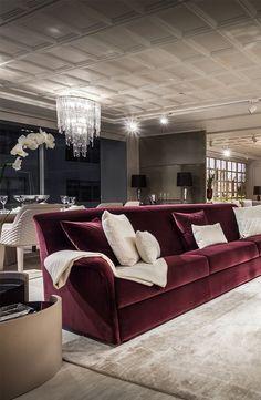 Nathanandjac_2017_39211_Adore_Blog  My Home  Pinterest Stunning Burgundy Living Room Decor 2018