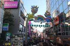 The best place to go shopping in Japan. Harajuku, Japan!!