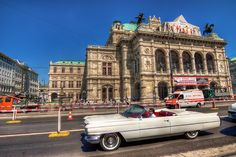 White Cadillac | Just a random photo from Vienna today :) Yo… | Flickr