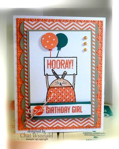 Cheerful Critters, Hooray, It's Your Day,  Me, My Stamps and I, Stampin' Up