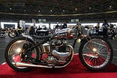 BSA custom motorcycle