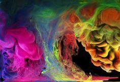 "Aqueous photo series ""Rainbow Skies"" by photographer Mark Mawson"