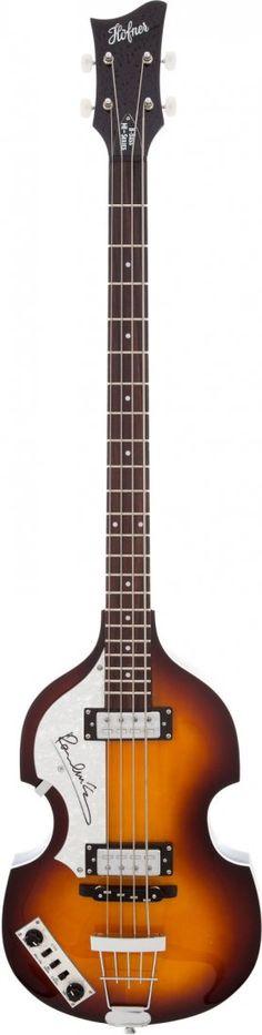 Left-Handed Hofner Bass