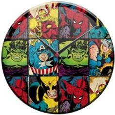 Whether you favor Spiderman or Hulk, there are times when you just can't choose a favorite Marvel Comics hero. So why try?    The kids bedroom decor...