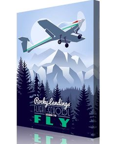"""Really great """"vintage travel"""" posters specific to bases, airframes and squadrons! Just ordered a few from this website to represent our Air Force journey so far! IFS aviation poster Snowboarding Resorts, Blueprint Art, Art Deco Posters, Learn To Fly, Aircraft Design, Aviation Art, Military Art, Vintage Travel Posters, Custom Posters"""