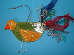 Wild & Wiry Clay Birds- gives very detailed directions