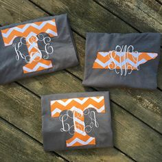 Womens Monogrammed State Shirt Tennessee Shirt by SoutherlyMade