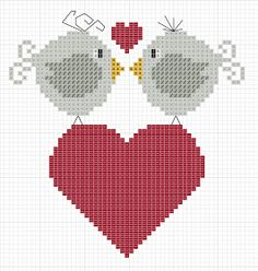 Lots of adorable little cross stitch freebies.