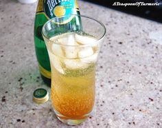 Turmeric Ginger Fizz -  very refreshing!