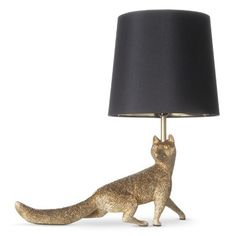 Room 365™ Fox Figural Table Lamp - Gold