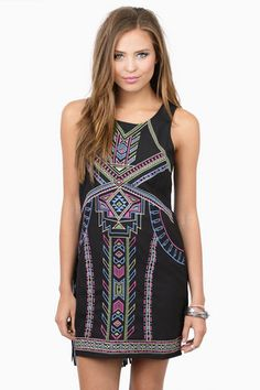 Sale - Dresses, Tobi, Black Indiarie Shift Dress