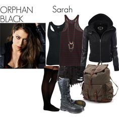 """""""Orphan Black- Sarah Manning"""" by nchavez113 on Polyvore"""