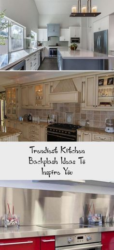 Looking for unique kitchen backsplash ideas? Find beautiful inspiration, including herringbone and Moroccan tile. Let us be your inspiration, as you remodel your kitchen!
