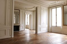 Haussmannien appartement in Paris! Can I have one of these?