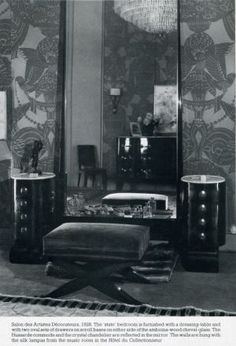 1920s decor ideas - interior design photos in black and white.jpg