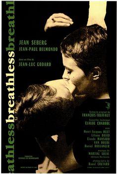 A bout de soufle (Breathless), Jean-Luc Godard, Jean-Paul Belmondo, Jean Seberg, La Nouvelle Vague (The New Wave)