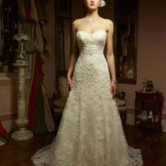 Looking for the latest in designer bridal gowns and bridesmaids dresses? Come find your dream wedding dress at Wendy's Bridal Columbus. Lace Wedding Dress, Sweetheart Wedding Dress, Wedding Dress Sizes, Gorgeous Wedding Dress, Bridal Wedding Dresses, Bridal Style, Dream Wedding, Ivory Wedding, Wedding Bride