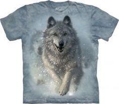 Tričko Snežný vlk - detské