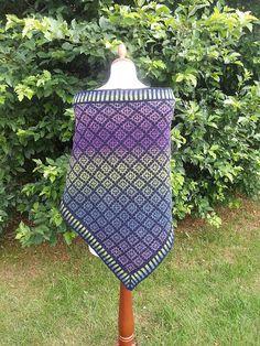 Ravelry: Pottsville Shawl pattern by Sabina Grau - free pattern, graph only
