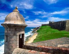 puerto rico images | Puerto Rico|San Juan, Puerto Rico: San Cristobal Fort, at the eastern ...
